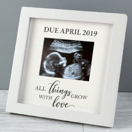 'All Things Grow' 4 x 3 Baby Scan Frame